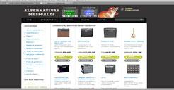 Tienda Online de Instrumentos Musicales, Programada en OsCommerce
